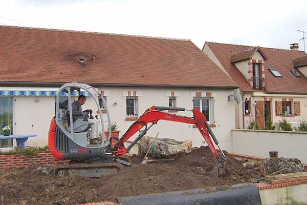 chantier cascade