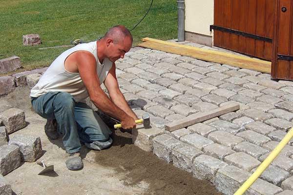 chantier gres ancien