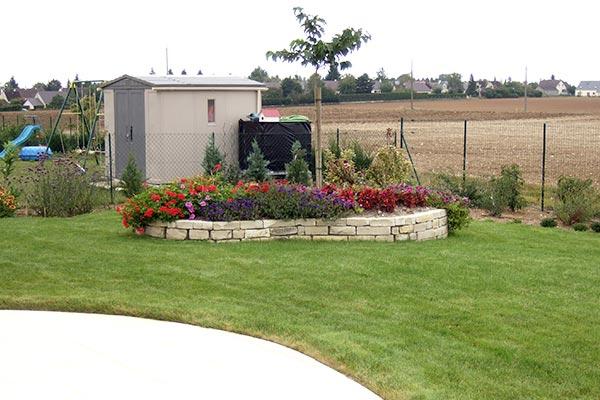 jardiniere pierres seches