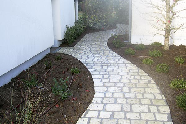 allee reconstituee paves