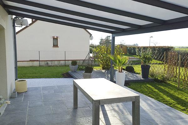 terrasse ardelia Jardécor - allées