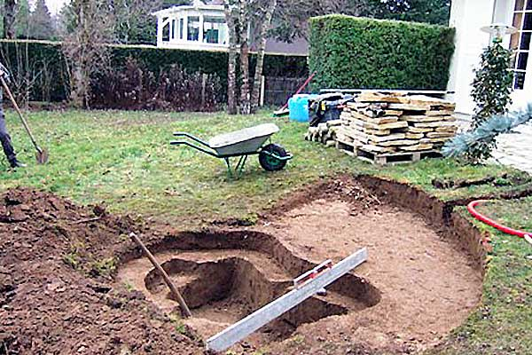petit bassin chantier